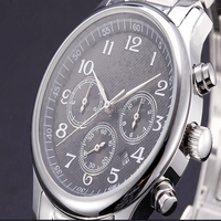 2015 Best Selling Luxury Automatic Waterproof Stainless Steel Mechanical Wrist Watch Man
