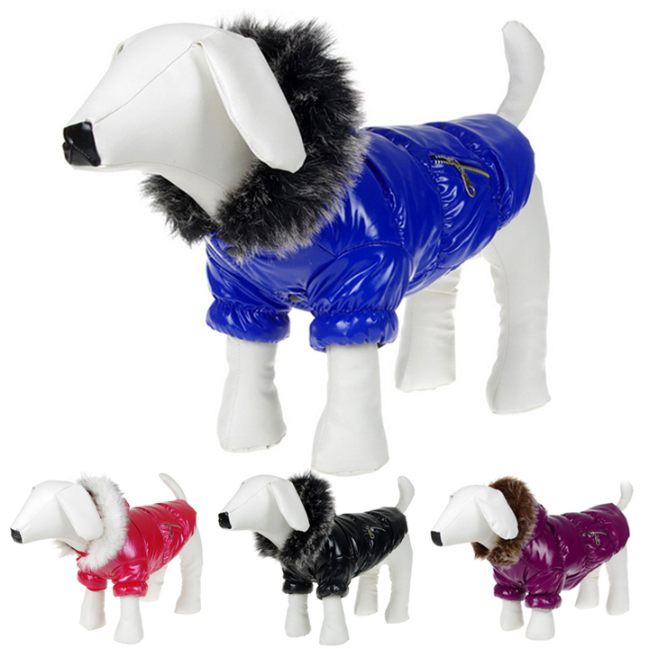 Winter Pet Dog Products Small and Big Dog Hoodie Coat Clothes S M L XL 18554