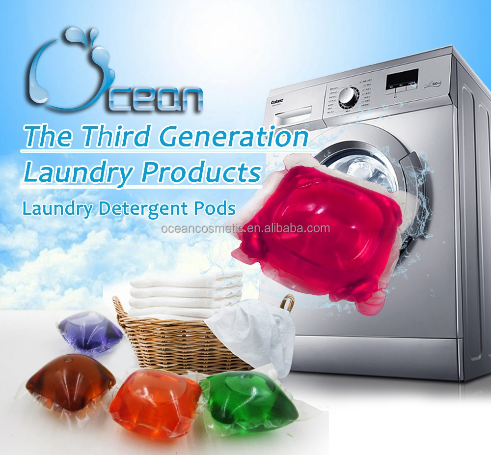 custom packing clothes laundry detergent pods