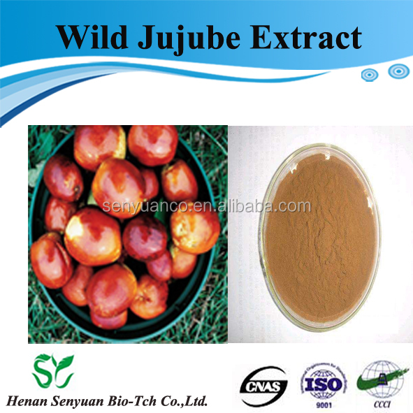Sleep Improvement Wild Jujube Extract Powder 98% Jujubosides