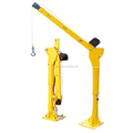 12v/24v 500kg light weight car lifting mini vehicular crane