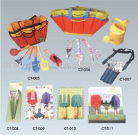 Garden Hand Tool Set, Kids Tolls set, Garden set with bag