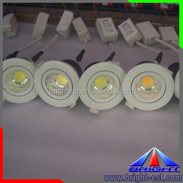 15W dimmable COB LED Downlight