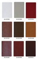 Eco-friendly PU coated 0.5mm~2.0mm Microfiber lychee leather for sofa, furniture, chair, decorative and etc