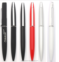 Press and auto fasion design office supply/press pens/hotel metal pen