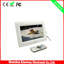 7inch fancy digital photo frame 800*480 TFT LCD screen