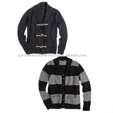 Hot Sale Men Acrylic Knitted Crew Neck Sweaters