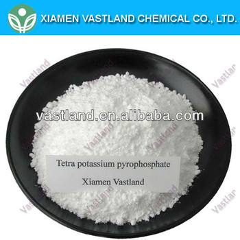 Tetrapotassium pyrophosphate for soap and detergent industry