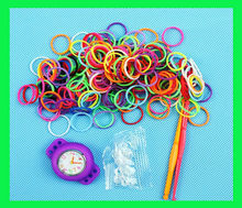 New arrived Hot Cheap Wholesale Crazy Loom Band Rubber for Bracelet rubber band bracelet watches