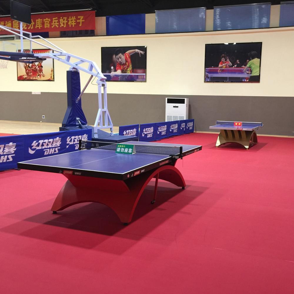 Multi patters durable table tennis flooring price lowest