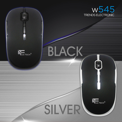 Factory Direct Sales Low Price 2.4Ghz Wireless Mouse 4 Button Fantech W545 Good Quality