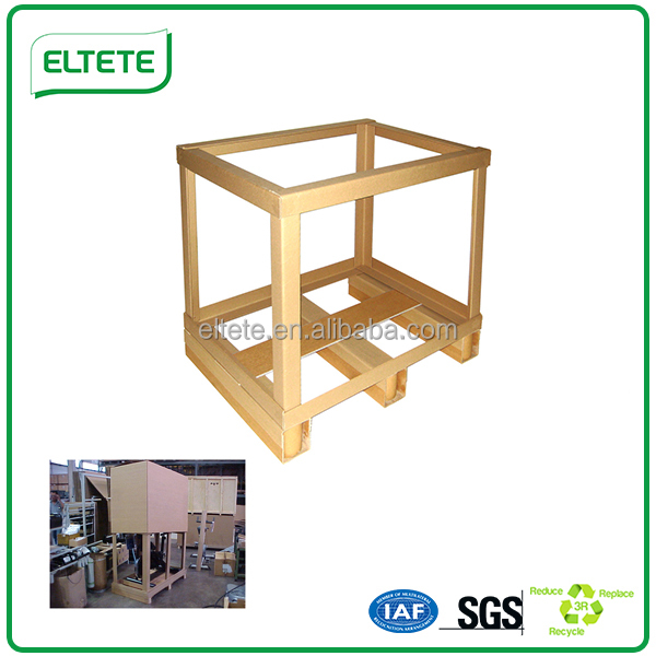 Top Quality paper edge protector frame packaging box pallet solution to keep safety in shipping