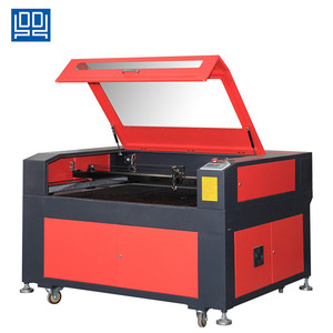CNC sheet metal laser cutting machine with sealed co2 laser tu ce cert DL-1290
