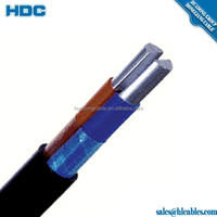high quality electric spiral power cable