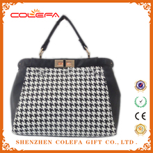 hot sell PU leather travel cosmetic lunch cooler lady fashion bag