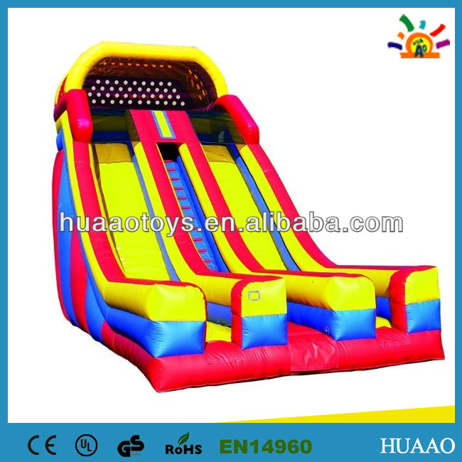2013 popular giant inflatable steps slide for sale