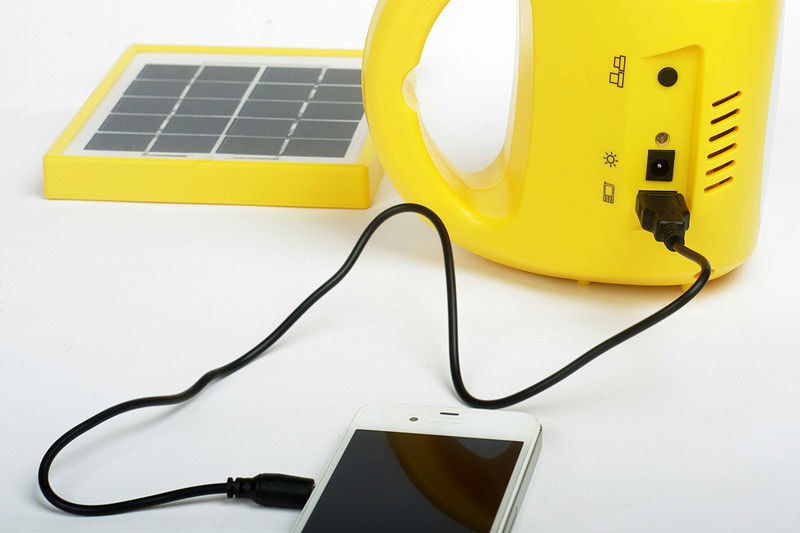 rechargeable emergency led lamp with mobile charger