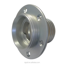 Anodised silver aluminum fuel filer cap mounting flange
