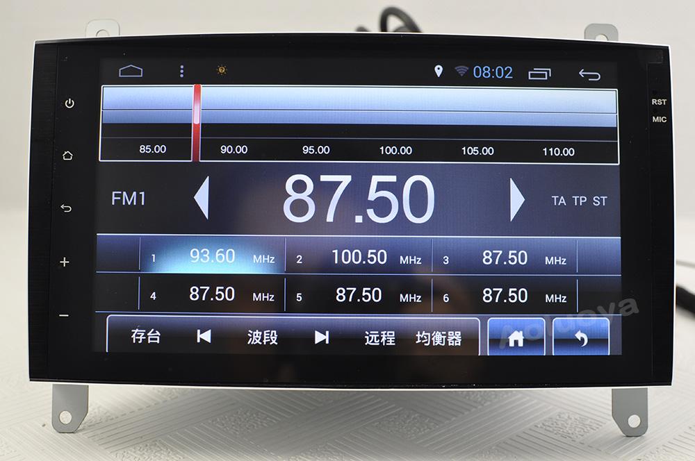 Dvd GPS C-class Mercedes-benz 2