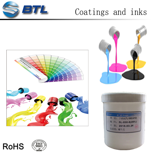 High gloss liquid silicone rubber PU coating for silicone rubber materials BTP-6053