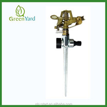 Brass Alloy Impulse sprinkler irrigation With Metal Spike 3307