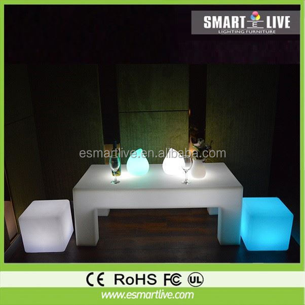 besting selling rechargeable led chair/modern led bar chair illuminated led bar chair 2015