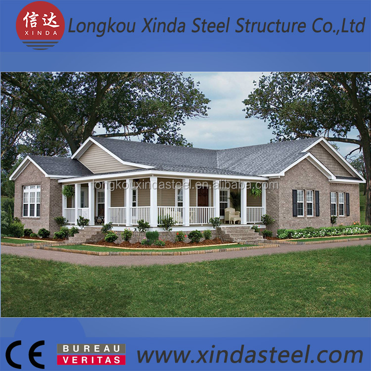 Real estated prefab house stee structure prefab factory building for Philippines