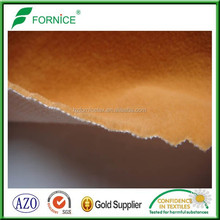 Factory directly sale 100% nylon warp-kintting flock fabric for bag