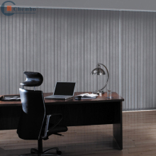 pvc vertical louvers blinds slats for spacer