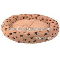 Cute rounded pet bed dog bed dog cushion