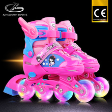 Hot Products Fast Speed Fashionable Thicking Aluminum Alloy PU Wheel Quad Children Roller Skate