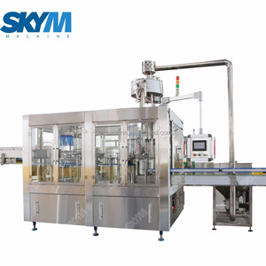 Small full automatic soda / beer can filling machine / line / equipment / canning machine