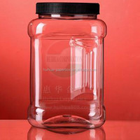 Plastic Jar with Grip