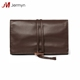 Wholesale leather jewelry pouch jewelry roll travel bag
