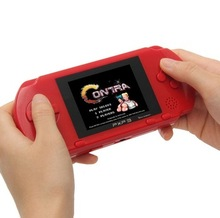 handheld game console 16 bit portable video game built in 150+ free games