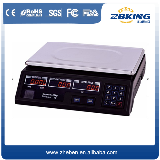 Custom Wholesale Luxury China made Excellent electronic digital price computing scale 5g