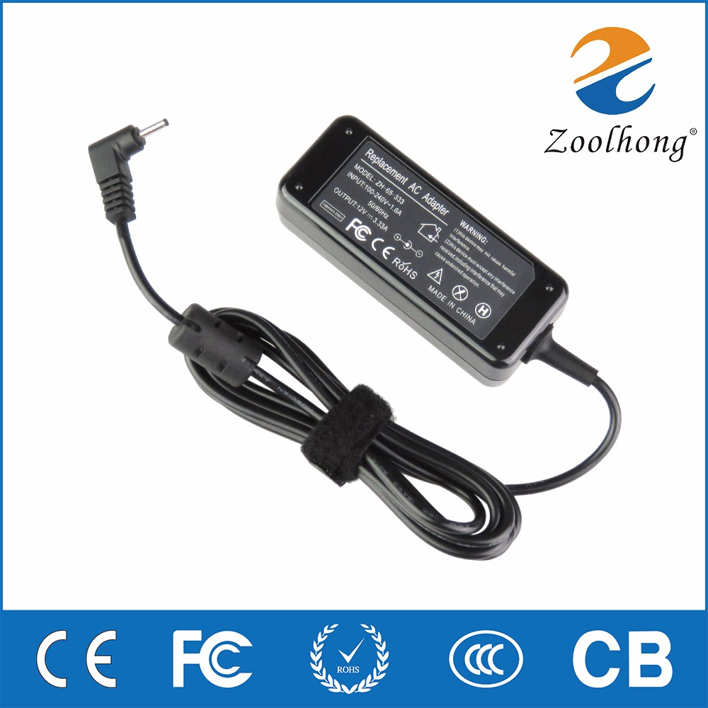 mini EPC for Samsung adapter charger netbook Ultrabook charger adapter 12V 3.33A 900X3K-K01 900X3G K01 K02 K05 K06