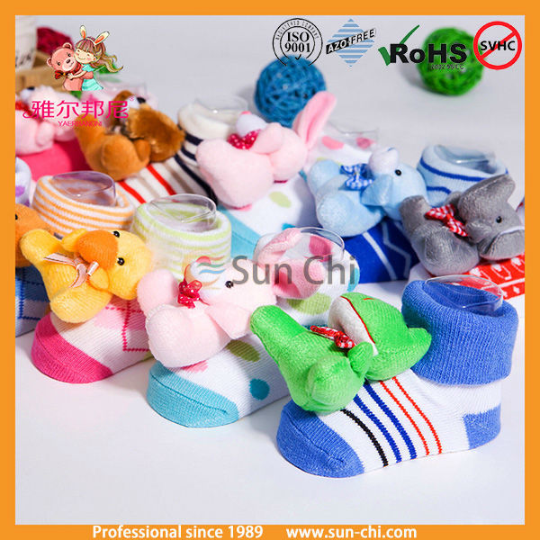 bulk wholesale cute animal sex girls wool baby sock