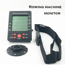 Fitness Equipment rowing machine With heart rate function Monitor exercise bike monitor