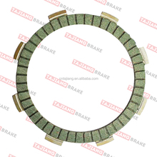 motorcycle clutch disc copper base CG125 best quality in china used for 40000KM