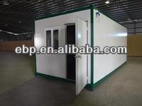 2013 Hot sales prefabricated aluminum glass house