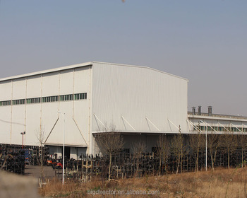 General Georgia Steel Structure Warehouse Made In China Qingdao Factory
