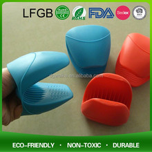 2016 Regalo Di Natale Colorato In Silicone Guanto Da Cucina Eco-Friendly