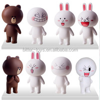pvc Cartoon Figure Toys oem Animal Vinyl Toys Plastic Vinyl Toy