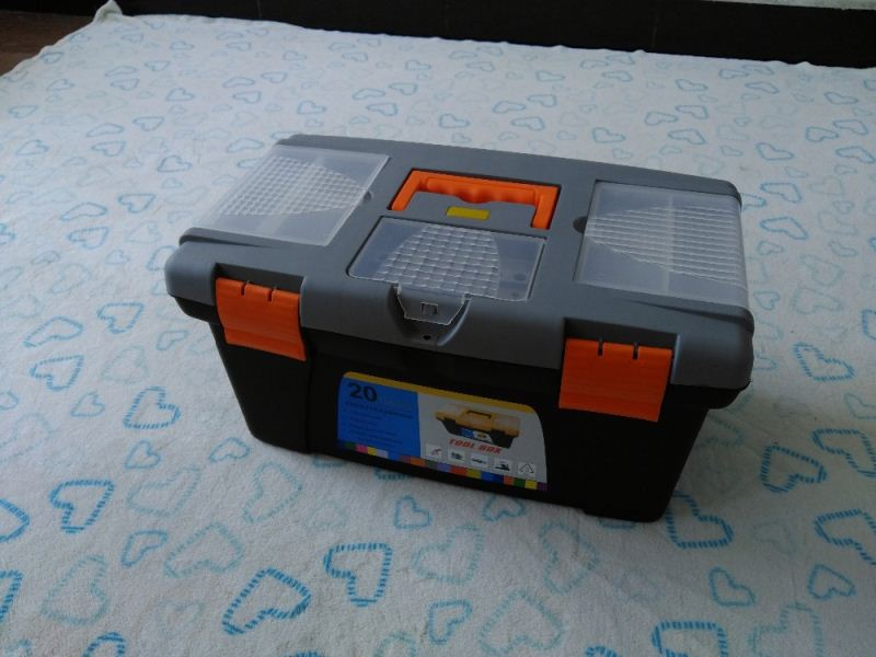High Quality Wholesale Supplier Manufacturer Plastic button steel wheel tool box