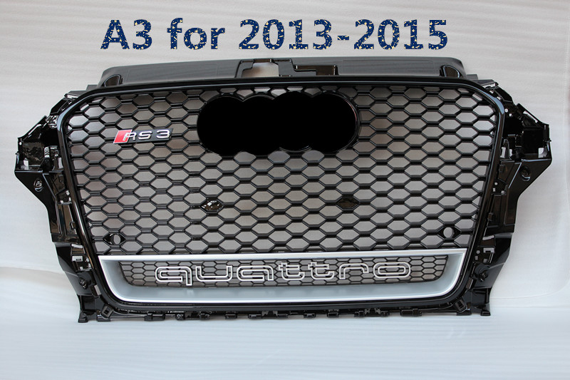 grille for AUDI A3 grill/8p RS3 grills/ABS front grills