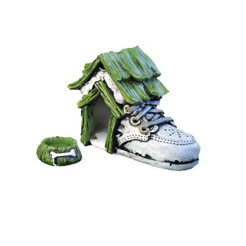 resin unique shoes shaped custom wholesale cheap big dog house