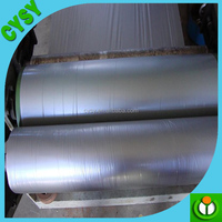 black plastic mulch film, black-white mulch film, 25 micron silver-black ground cover in stock