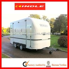 OEM or Customized Stainless Steel/ Aluminum RV Camping Trailer /Enclosed Travel Trailer with 31-year experience