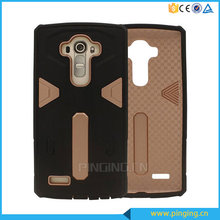 Mobile phone protective shell hybrid combo armor case back cover for LG G4